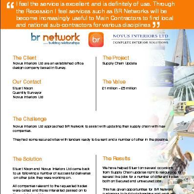 network case studies
